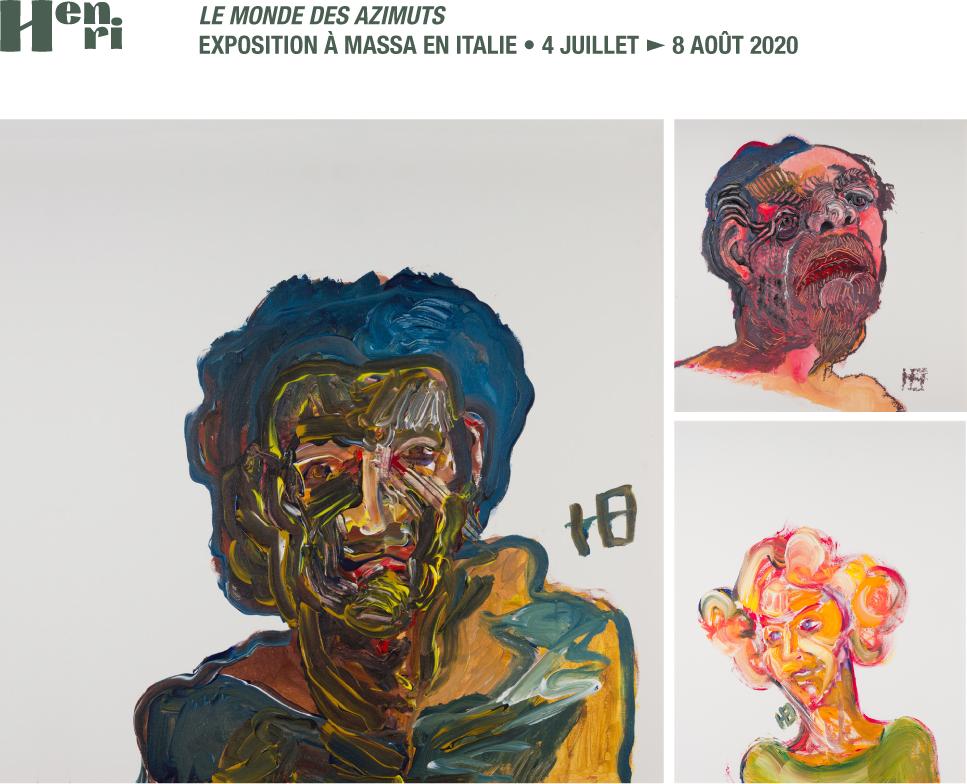 invitation à une exposition d'Henri